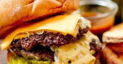 Classical Cheeseburger with homemade fries 1